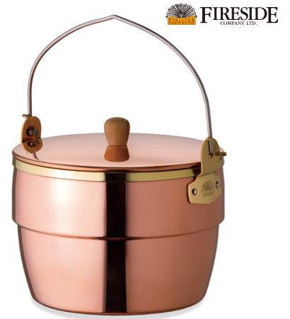 Oak 】Copper FIRESIDE Potコッパーオークポット●送料無料● 【