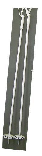 【 秀岳荘オリジナル 】白グラスストック 140cm