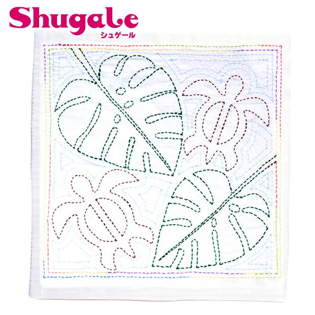 永遠の定番モデル 刺繍 キット チューリップ 刺し子 花ふきん SASHIKO WORLD ハワイアン図案 ハワイアン メール便可 ホヌ 刺し子キット ウミガメ Hawaii AL完売しました。