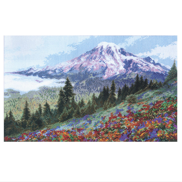 刺繍 輸入キット Charivna Alpine Meadow (アルペンの草原)