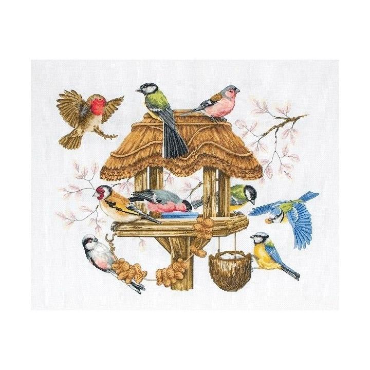 刺繍 Bird Table 輸入キット