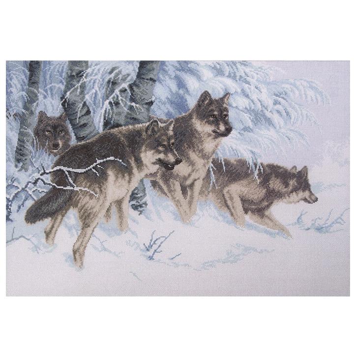 刺繍 Charivna Winter Trail(ウィンタートレイル)輸入キット