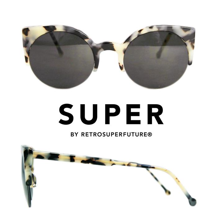 SUPER Sunglasses Lucia Puma[kkse285] キャットアイ スーパールチアプーマサングラス  UVカット レディースサングラス