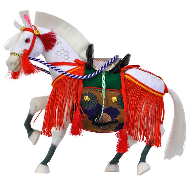 【早割キャンペーン全品P10倍以上12/31まで】【五月人形】【飾り馬】半ちりめん6号今にも駆け出しそうな躍動感たっぷりの飾り馬!【D151】【新作】【秀光】【限定品】【楽ギフ_のし】