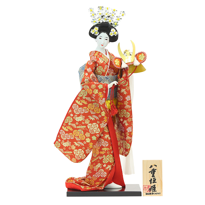 【日本人形】【J021】日本人形10号【八重垣姫】【新作】【秀光】【限定品】【楽ギフ_のし】