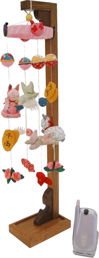HS猫吊るし飾り(小)【新作】【秀光】【限定品】【楽ギフ_のし】【M008】【smtb-u】