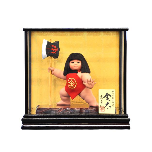五月人形 5月人形 2019年 手作り 初節句 金太郎 鉞 送料無料 コンパクト ミニ ケース 舞踊人形 新作 秀光 限定品 目玉商品 カッコイイ 買得 お得 人気 ランキング P95308