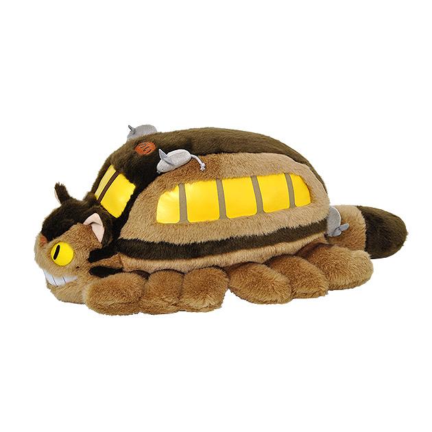 【N008】ぬいぐるみ となりのトトロネコバスL  あの名作の人気キャラクター ネコバス!【秀光】