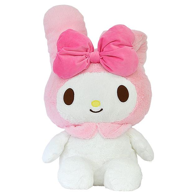 N176 ぬいぐるみ サンリオ HUGHUG マイメロディ 2L キャラクター かわいい 大きい ピンク リボン