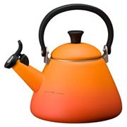 国内正規品 贈り物にもおすすめ 送料無料 ル クルーゼ メーカー公式 オレンジ コーン ケトル 捧呈
