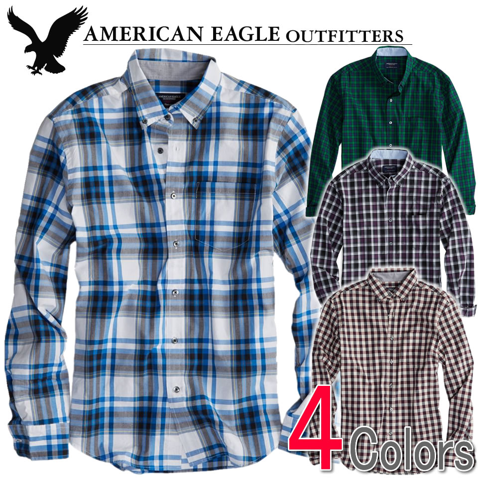 shushubiz | Rakuten Global Market: American eagle men casual shirt ...