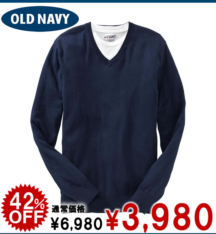 ca55d824879 There is the size that is big to a gift more than old navy men V neck  jersey-knit Men's Lightweight V-Neck Sweaters blue (476712) S M L XL 10,800  yen ...