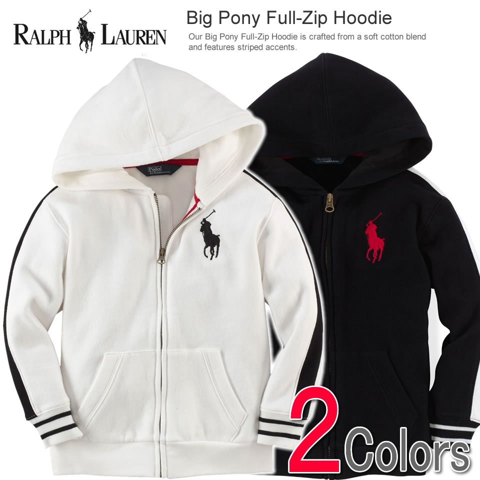 Polo Ralph Lauren Boys parka Big Pony Full-Zip Hoodie (two colors) (POLO  RALPH LAUREN)(23172386)(S,M,L,XL)( men, a new work are deep-discount and  challenge ...