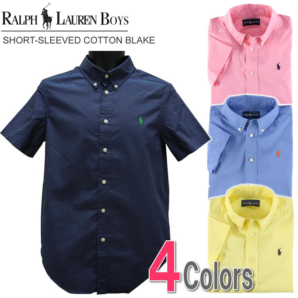 Shushubiz Four Colors Of Polo Ralph Lauren Boys Short Sleeved