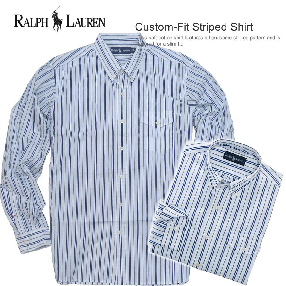 Royal Blue Striped Shirt  Vintage Polo  Mens Shirts  Vintage Shirt  80s Shirt