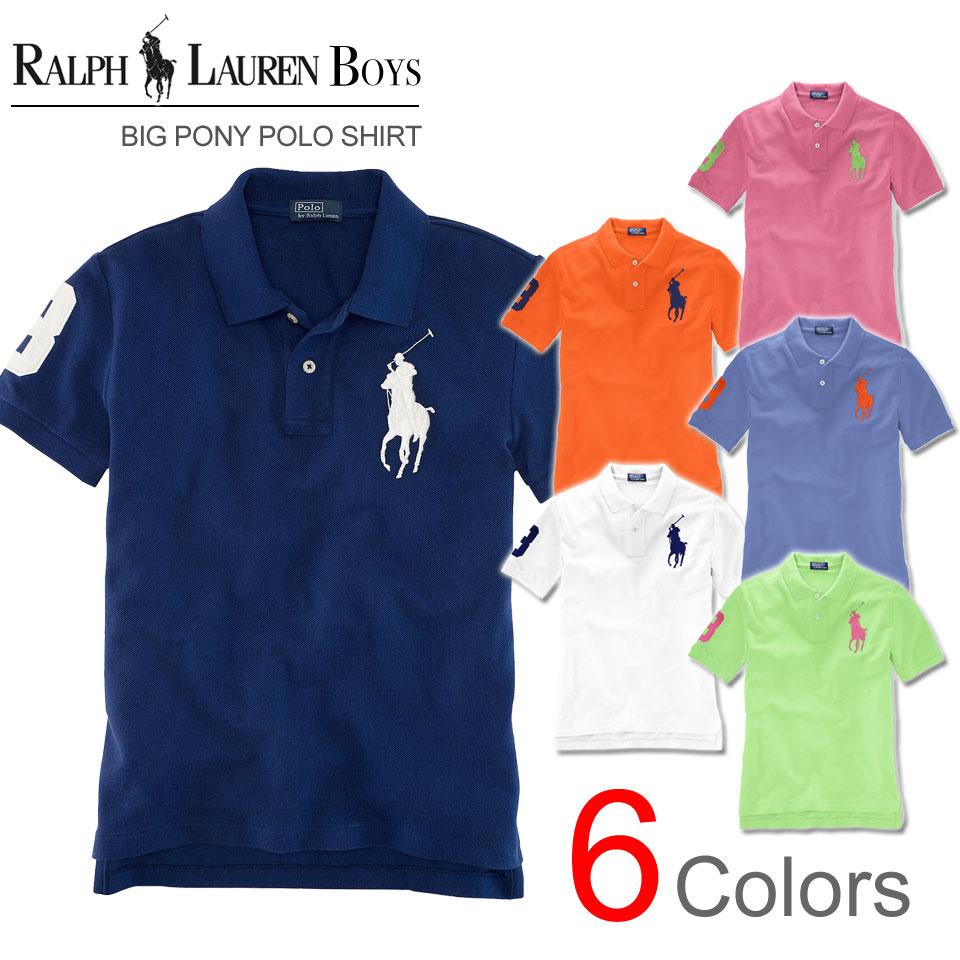Rakuten champions sale, victory Memorial ????? Ralph Lauren boys big pony  short sleeve polo shirt ...