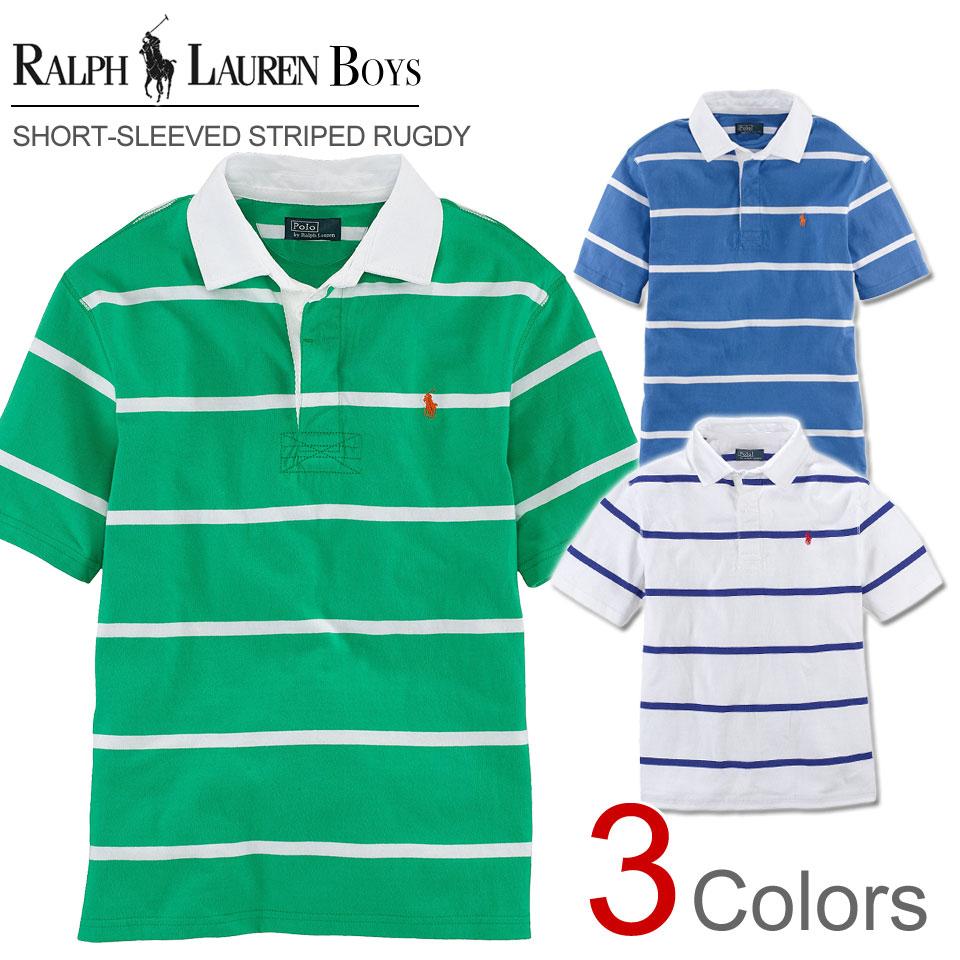 Rakuten champions sale, victory Memorial ????? Ralph Lauren boys short  sleeve polo shirt Short- ...