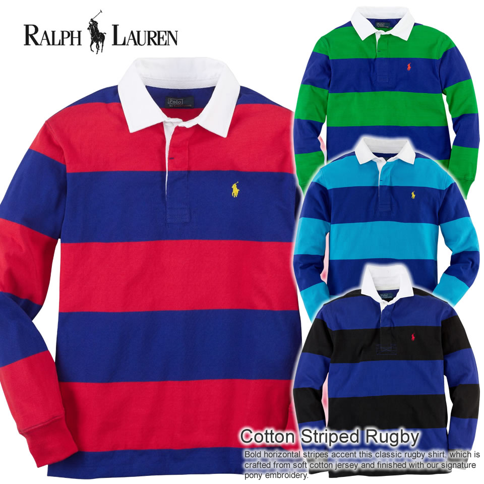 Shushubiz Four Colors Of Polo Ralph Lauren Boys Long Sleeves Polo