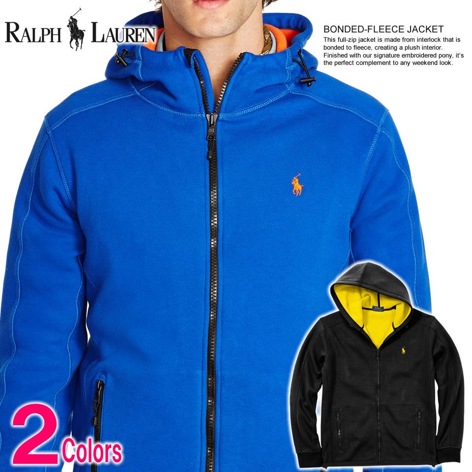 Ralph Lauren Pony Blue Polo Hoodies Men Jacket