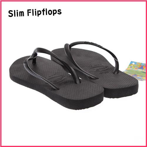 4707c885f81ee7 Havaianas women s flip-flops Flipflops Slim Black (Rakuten great  Thanksgiving!