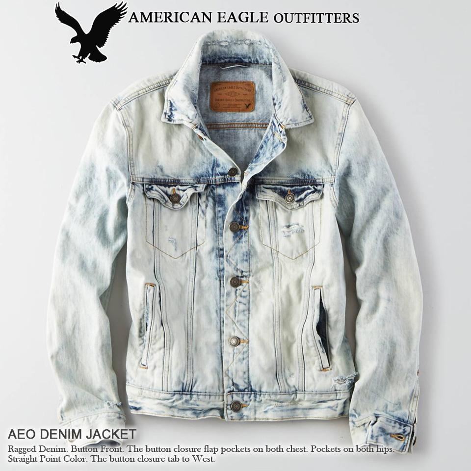 Shushubiz: ★ New In 2016! American Eagle Mens Denim Jacket