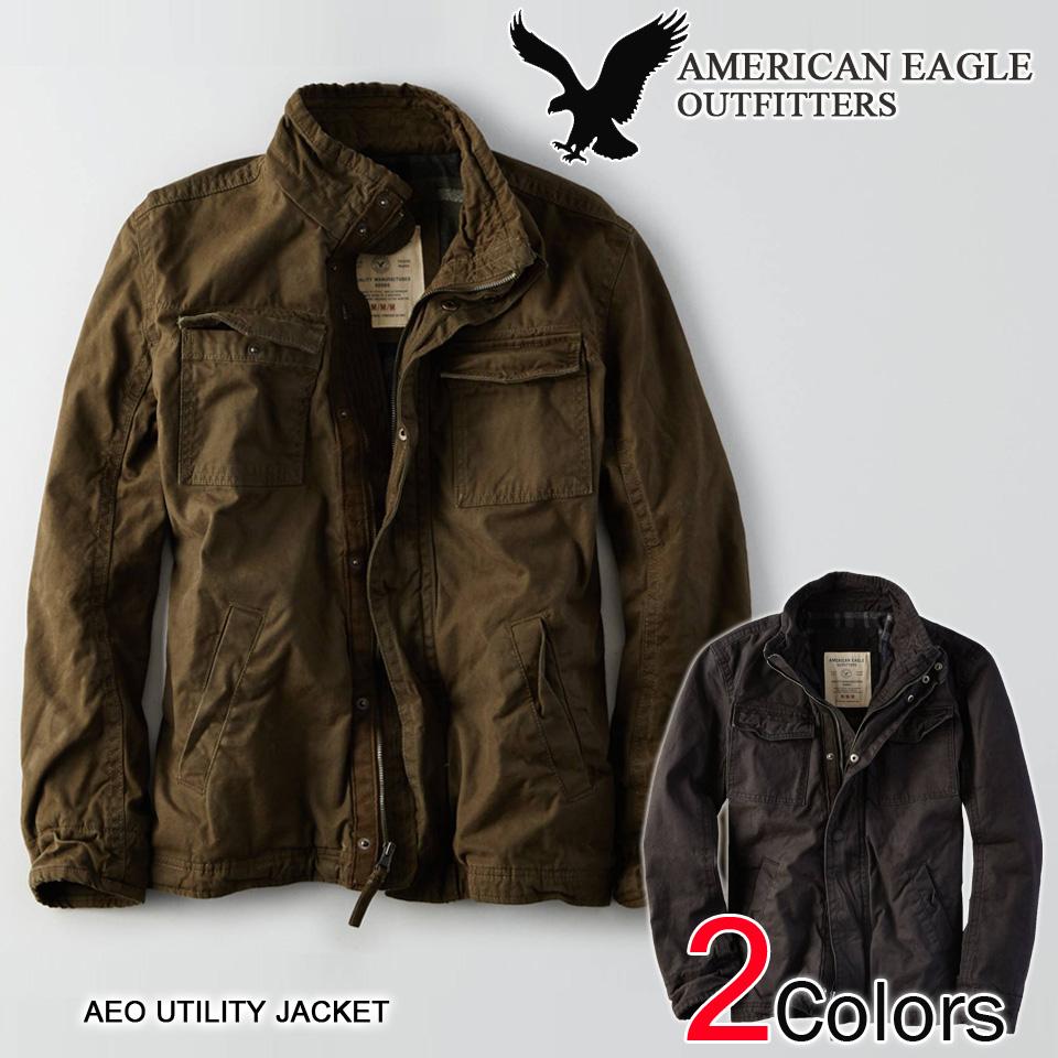 Aeo Men S Vine Military Jacket Green