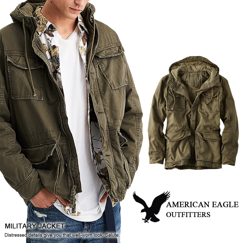 a20f023f75e There is the size that is big to a men s cool gift more than American eagle  ... Small men s AE green vintage military jacket ...