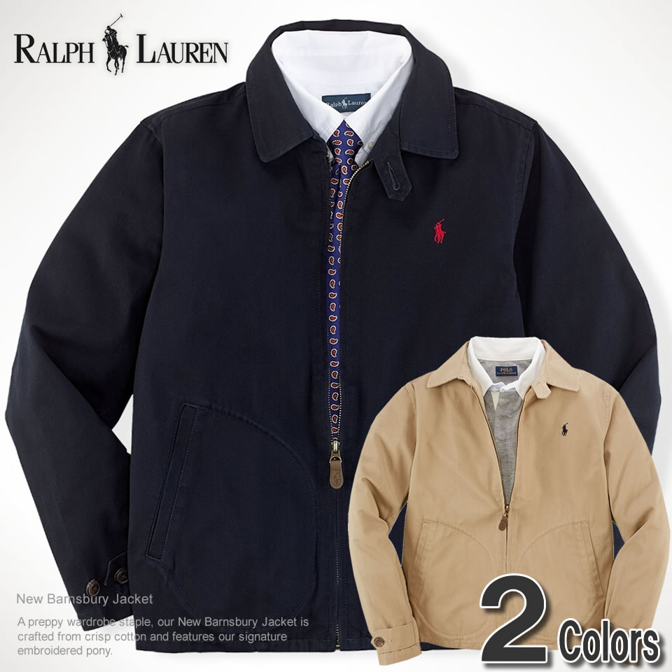 0ea53ac3c Polo Ralph Lauren boys jacket New Barnsbury Jacket 2 colors (POLO RALPH  LAUREN)