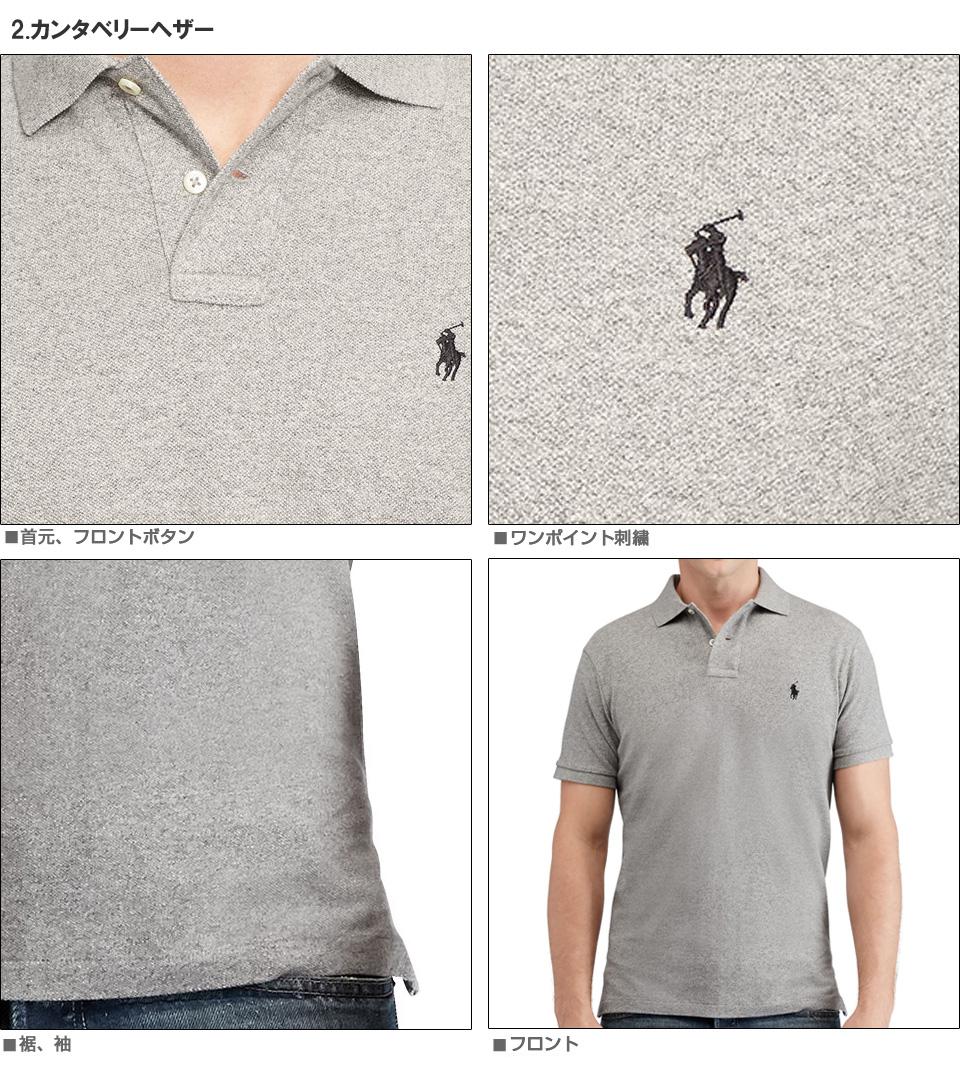 043ee0b045 □Polo Ralph Lauren men fawn short sleeves polo shirt Custom-Fit Mesh Polo  Shirt (87952606) S M L XL XXL supermarket SALE holding!