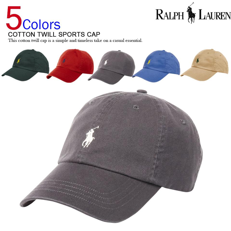 Cap Polo Ralph Lauren COTTON TWILL SPORTS CAP (101282696) more than 10 195c1eafd1e