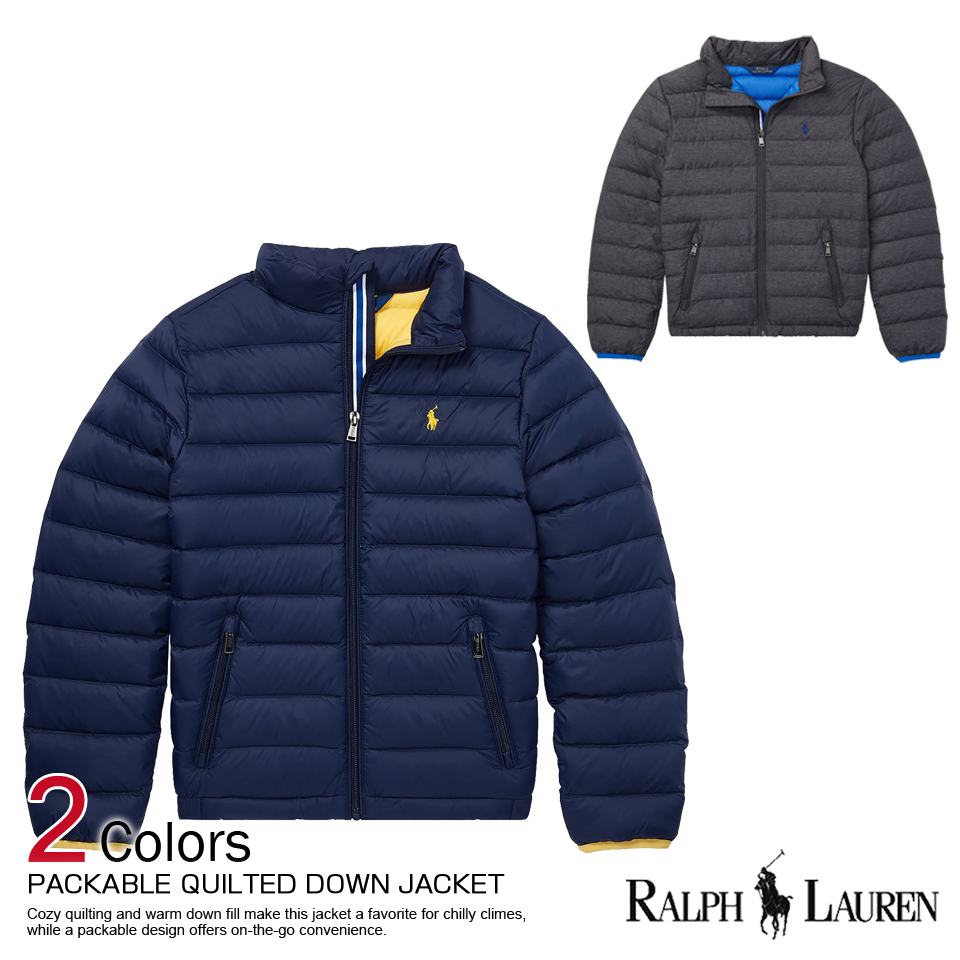 2986980e8e72 There is the size that is big to a men s cool gift more than polo Ralph  Lauren Boys down jacket Packable Quilted Down Jacket two colors POLO RALPH  ...