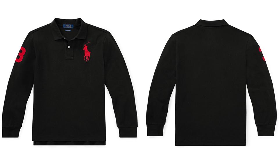 1625aa04c Polo Ralph Lauren boys big pony numbering long sleeve polo shirt · ☆ 2014  ...