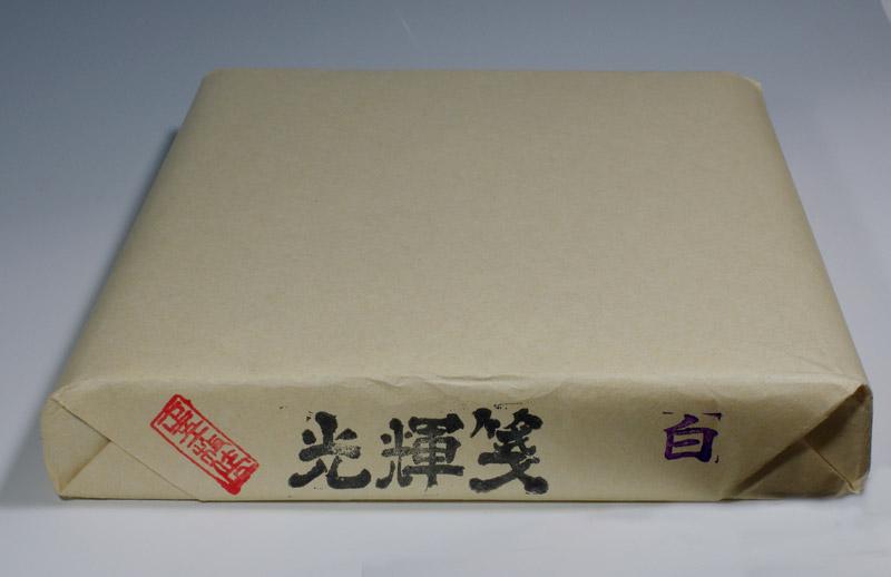加工紙・半切紙/条幅紙・光輝箋白100枚入/1反仮名用