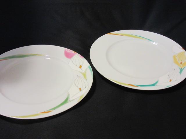 【九谷焼】 8.5号ペアパスタ皿(大皿) カラー