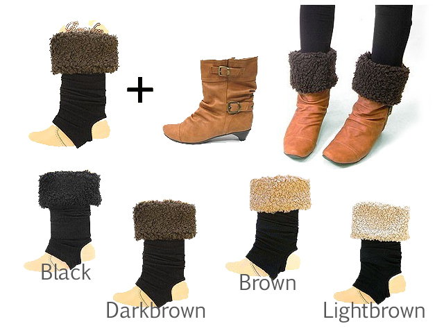 Just put on the boots, BOA Gets a makeover! Leg warmers
