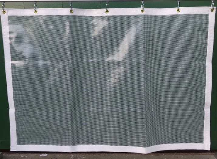 糸入り透明 ビニールカーテン