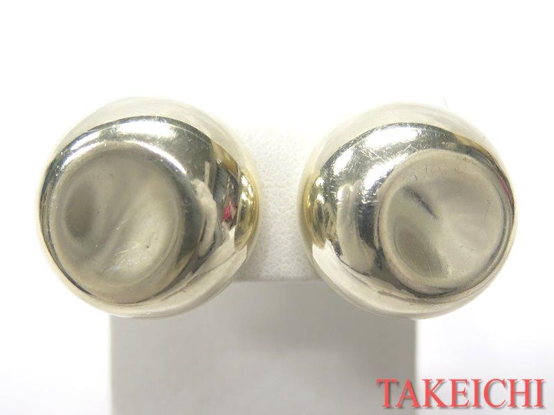 送料無料 激安セール ジュエリー Tiffany Co. 925 ティファニー 激安 SV ラウンド シルバー 中古 32348 丸型 銀 イヤリング