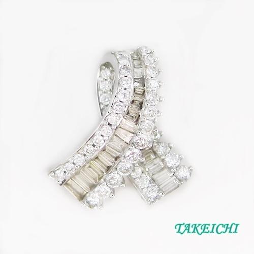 K18WG ★ペンダントトップ ダイヤモンド0.7ct【中古】/10020682