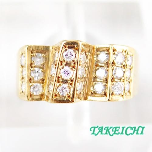 K18 ★リング ダイヤモンド0.51ct ◇11号【中古】/10021481