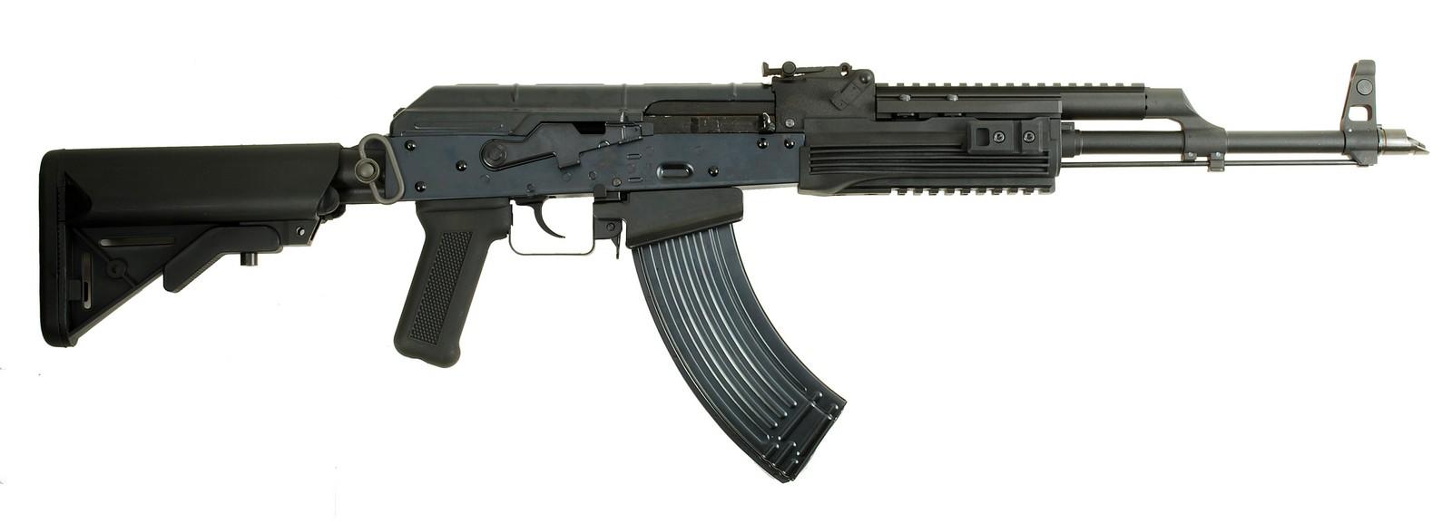 WE ガスブローバック AKM PMCバージョン