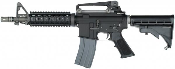 WE ガスブローバック M4 CQB ブラック