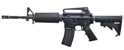 WE ガスブローバック M4A1 Black