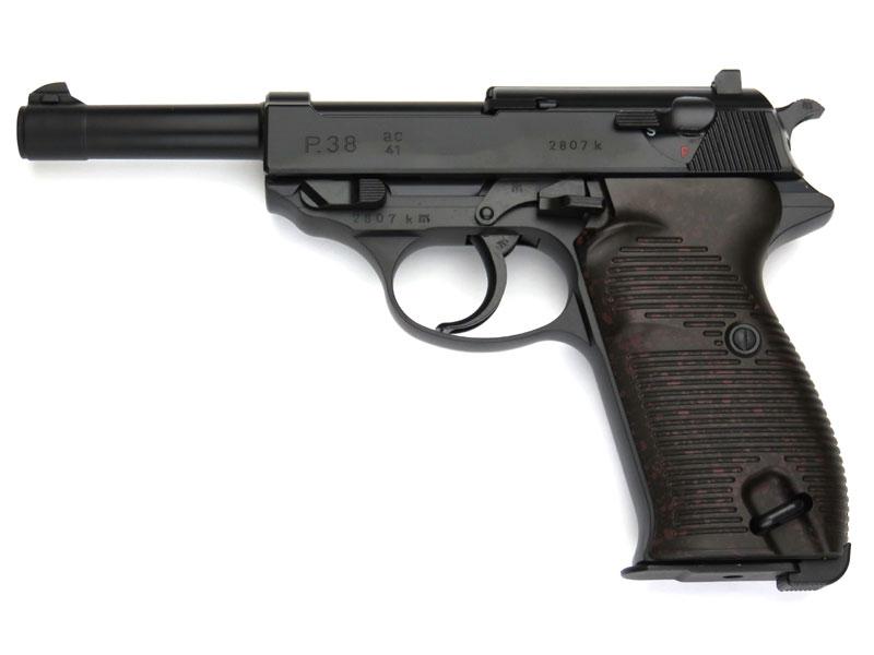 マルゼン ワルサーP38 ac41 ブラックモデル