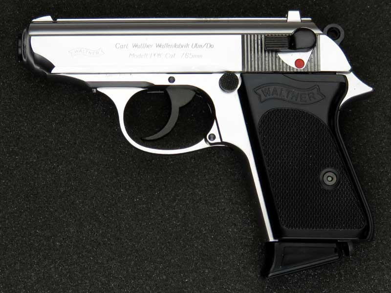 マルシン ワルサーPPK シルバー ABS 発火式モデルガン