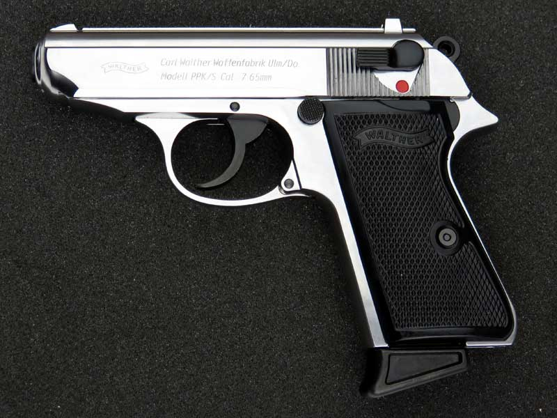 sidearms marushin walther ppk s silver abs expression firing model