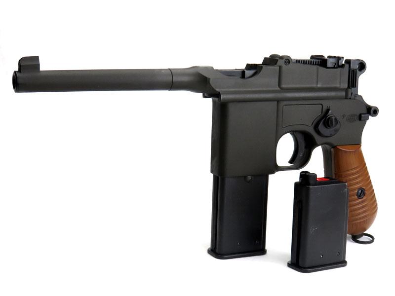 マルシン モーゼルM712・6mmBBブローバック ショート/ロングマガジン各1本付属モデル