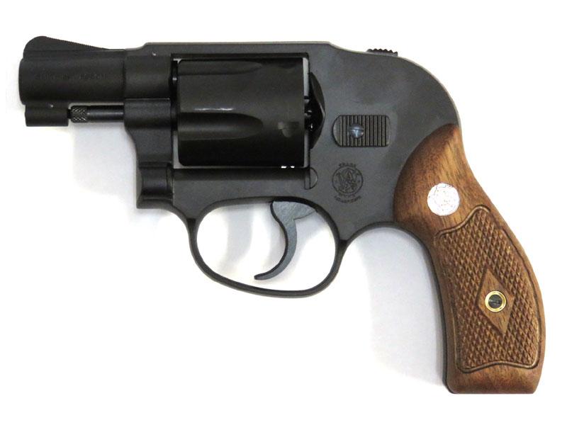 タナカ S&W M49 ボディーガード アーリーモデル 2インチ ヘビーウェイトブラック モデルガン 木製グリップ仕様