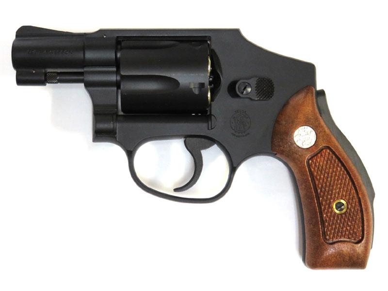 タナカ ガスリボルバー Smith&Wesson M40 センチニアル 2インチ ヘビーウェイトブラック