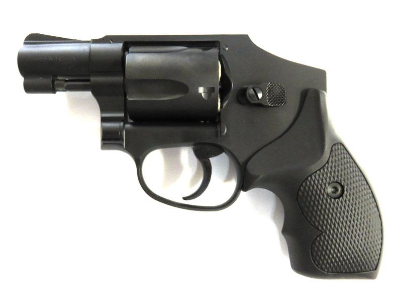タナカ ガスリボルバー Smith&Wesson M442 センチニアルエアウェイト 2インチ ABSブラック
