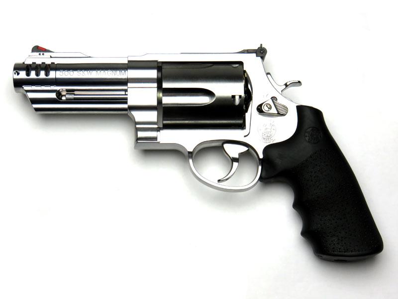 タナカ Smith&Wesson M500 3インチ+1 ABSシルバー Ver2